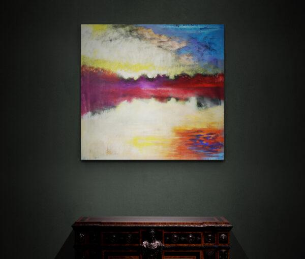 Morning Light in Christiania, Oil on canvas, Marios Orozco
