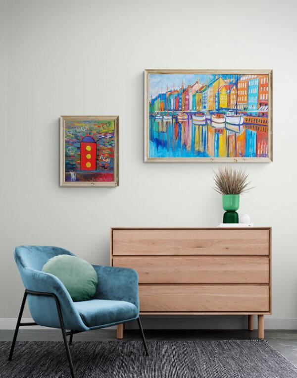 Oil paintings by Marios Orozco
