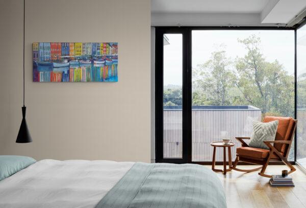 Nyhavn Close Up, Oil on canvas, Marios Orozco