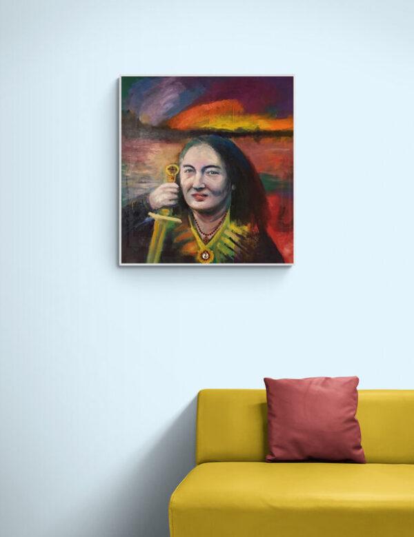 Portrait of Hannah West by Marios Orozco