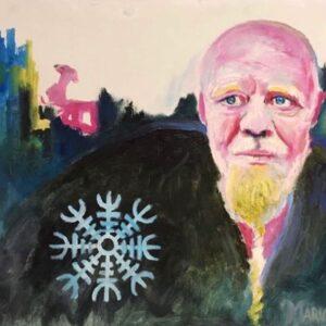 Dori, portrait by Marios Orozco