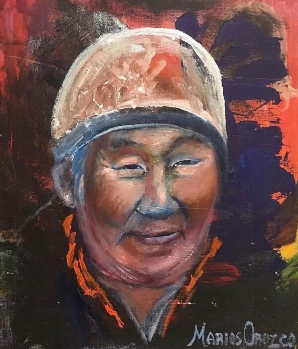 Eru (Aeroplane) Dynamit Harry, oil painting by Marios Orozco
