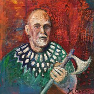 Portrait of Gamle Niels by Marios Orozco