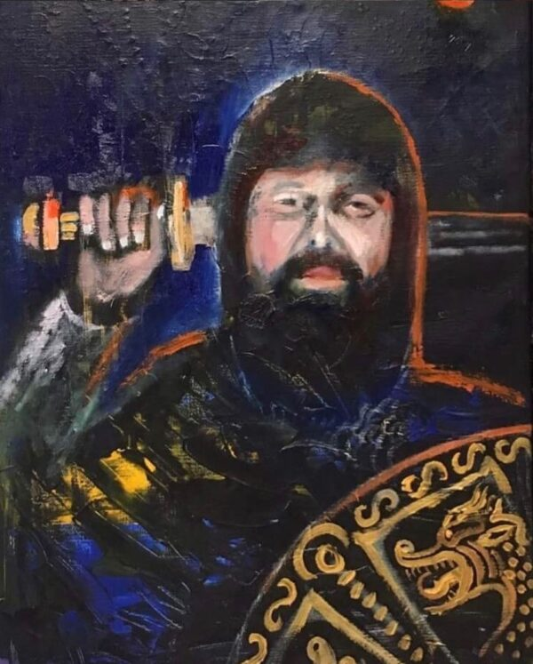 Portrait of Johan by Marios Orozco
