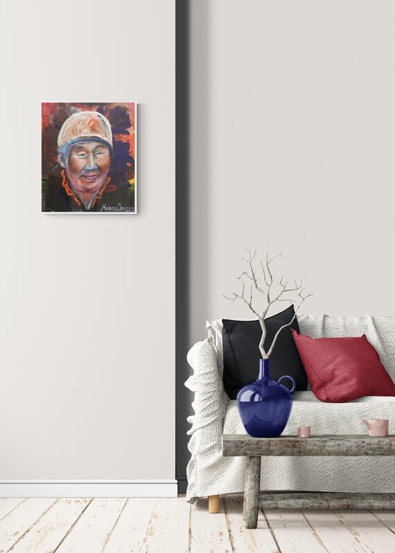 Portrait of Eru (Aeroplane) Dynamit Harry by Marios Orozco.